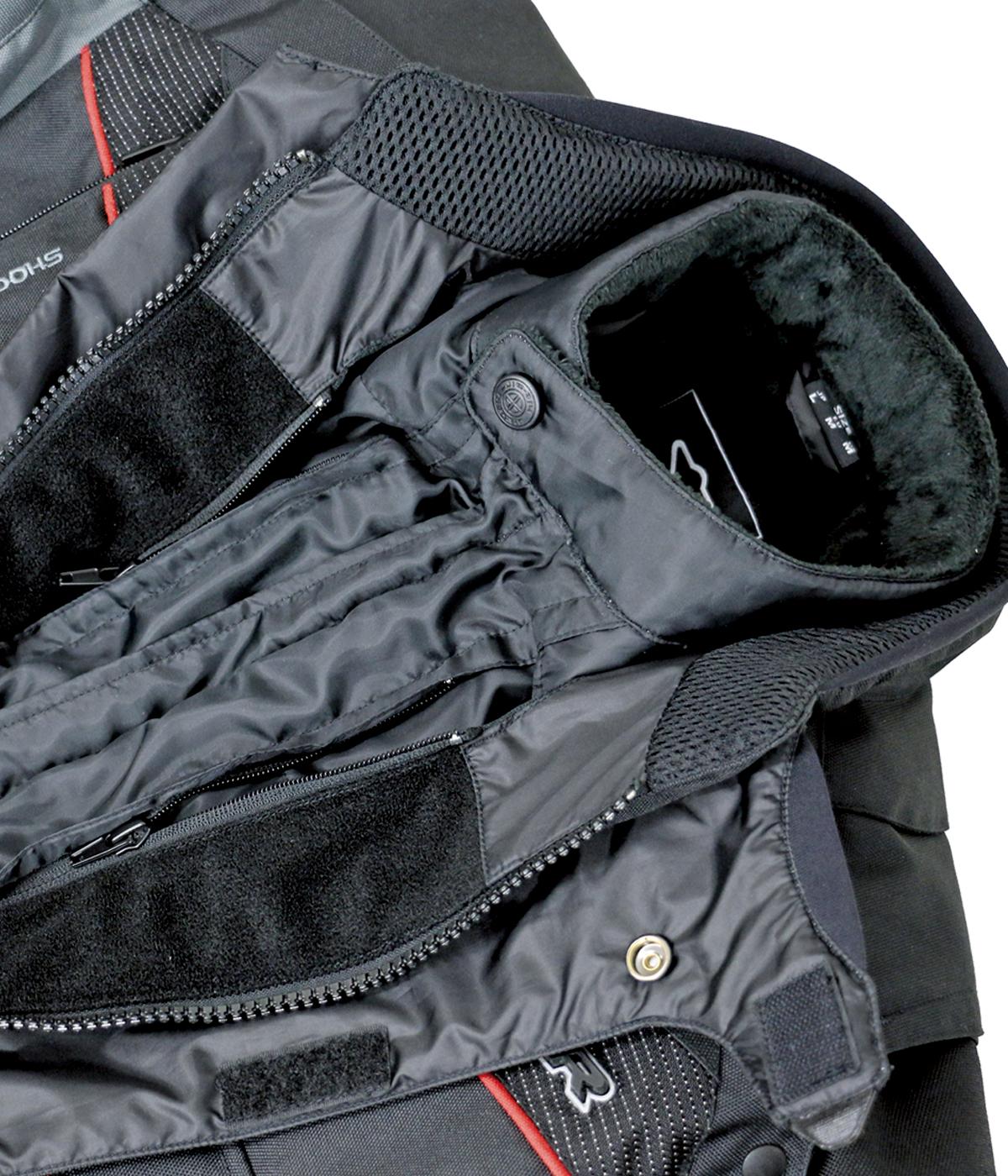 Liner zipper