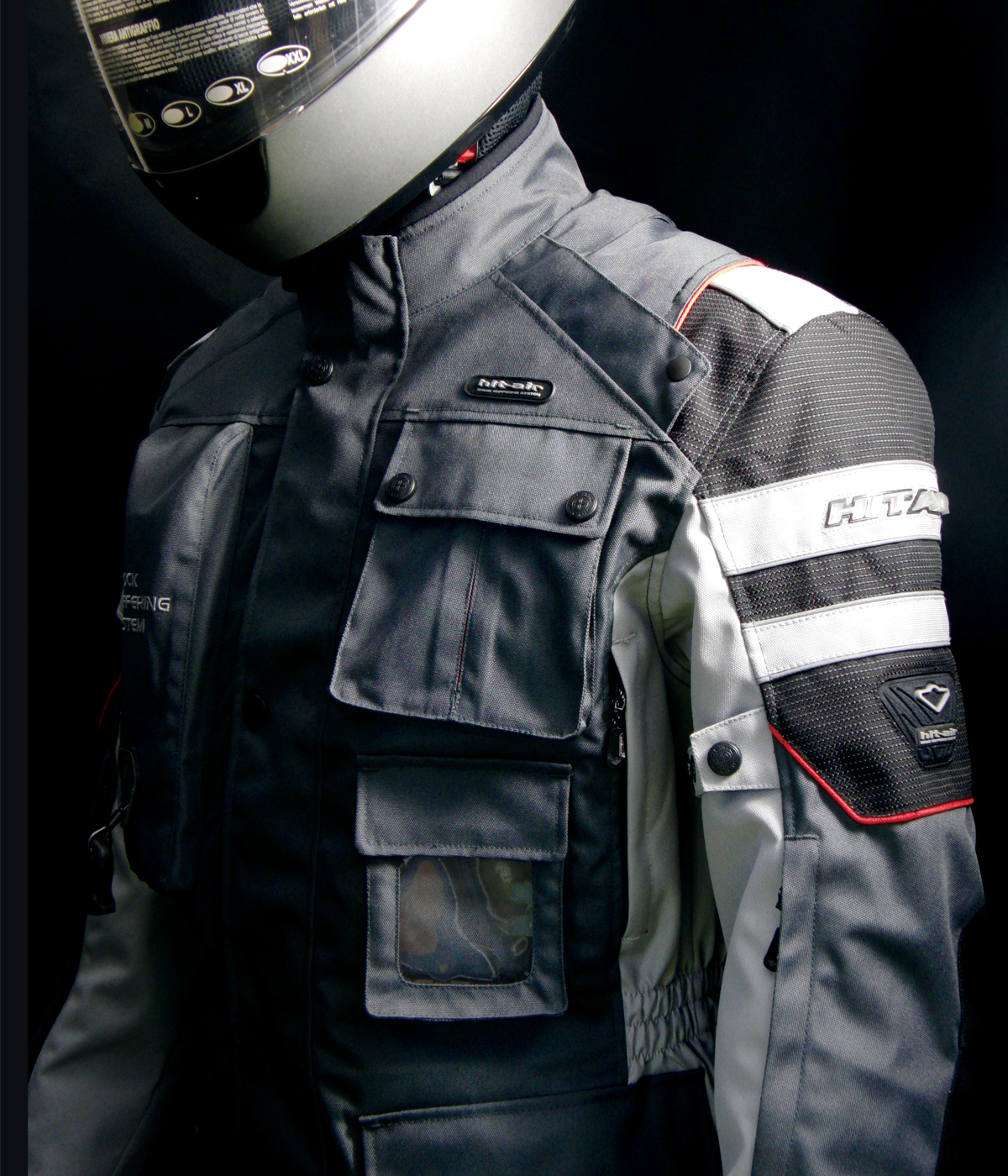 Airbag Black front