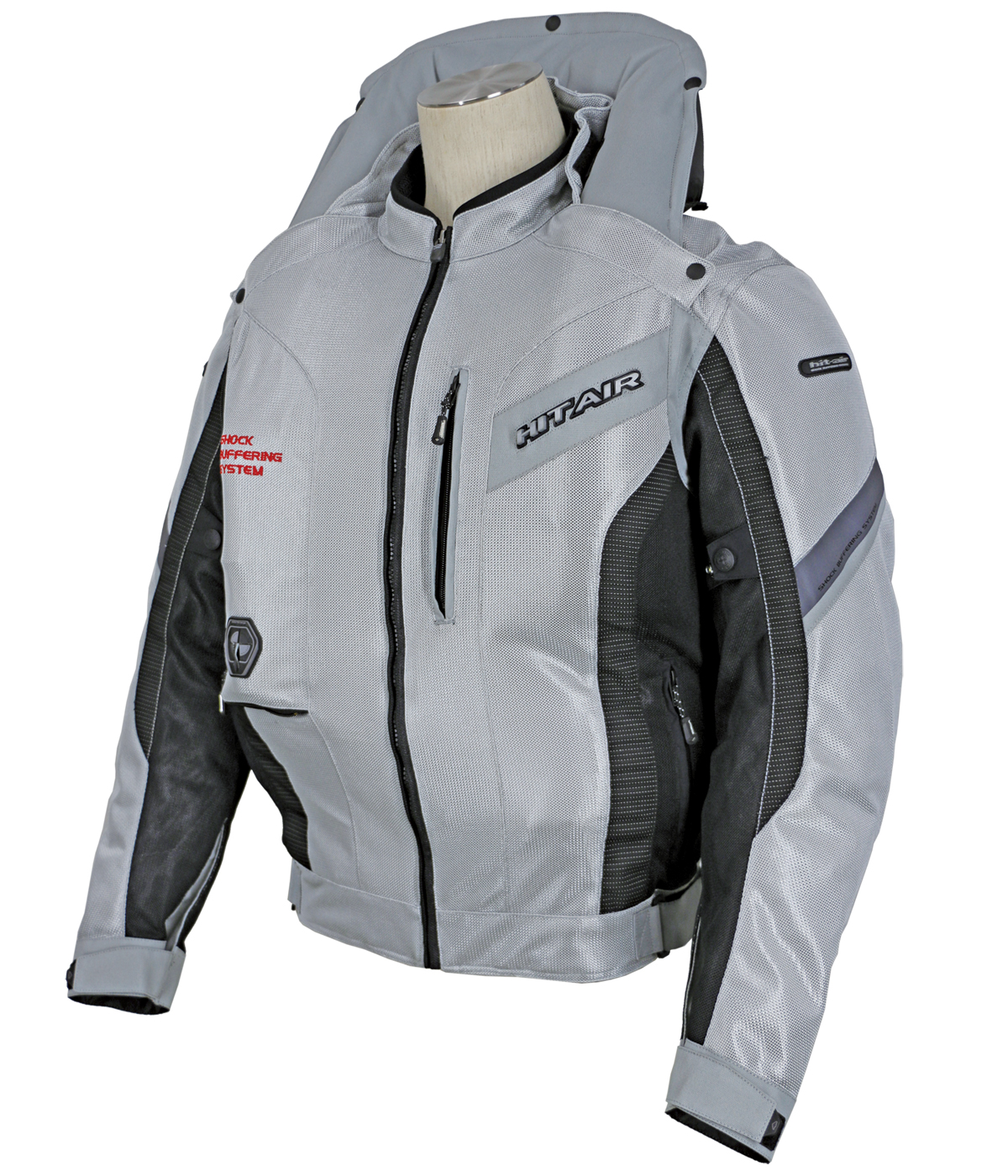 Light gray airbag