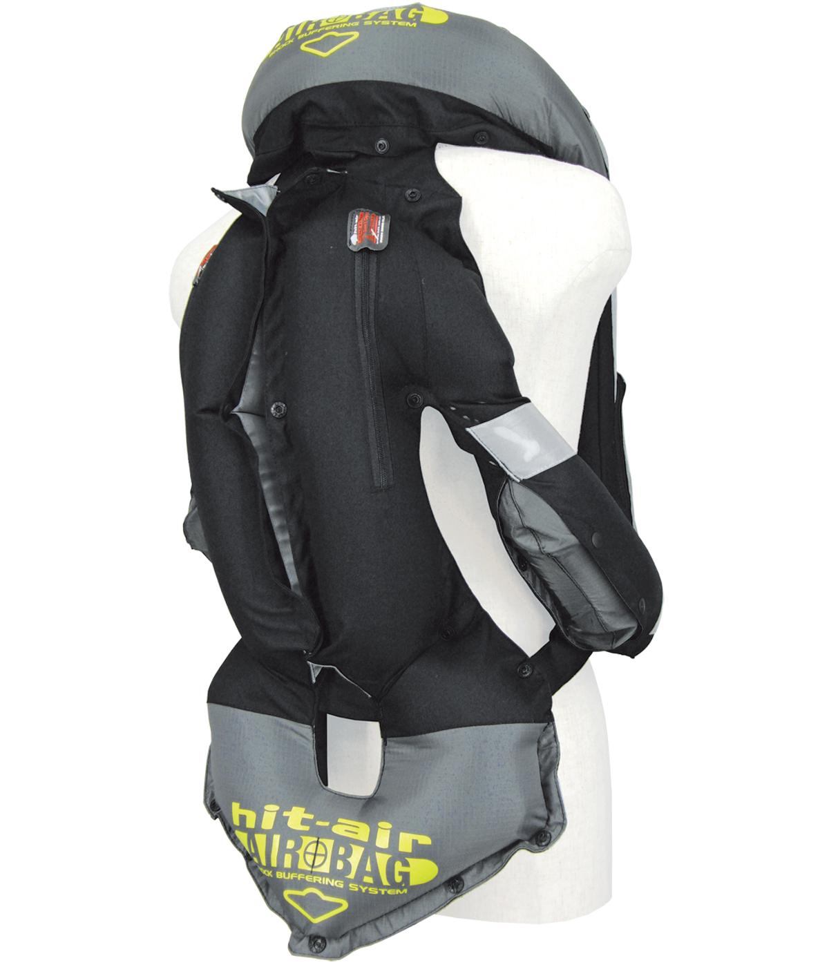 Black airbag back