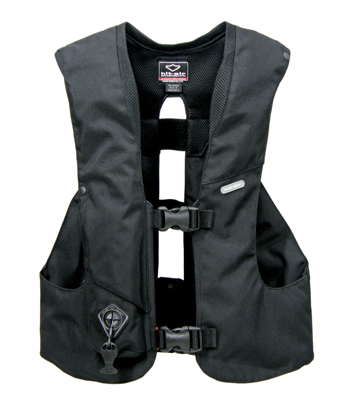 hit air horse riding vest with airbag. Black Bedroom Furniture Sets. Home Design Ideas
