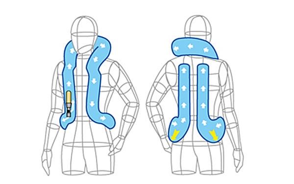 首気室露出型 腰気室収納式キーボックスB型