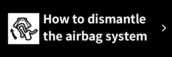 How to dismantle the airbag system