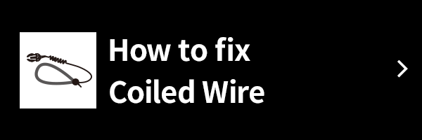 How to fix Coiled Wire