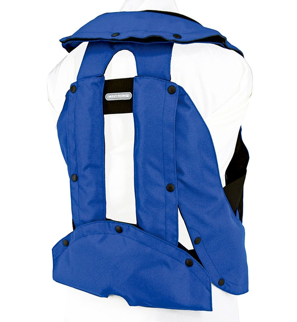 Blue Airbag Back